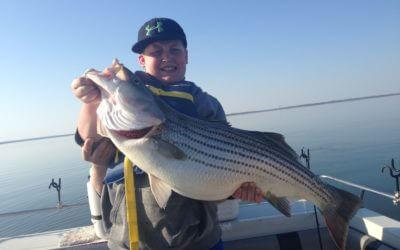 John blasingame lake texoma striper fishing guide for Striper fishing lake texoma