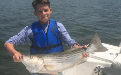 Take a Kid Fishing on Lake Texoma