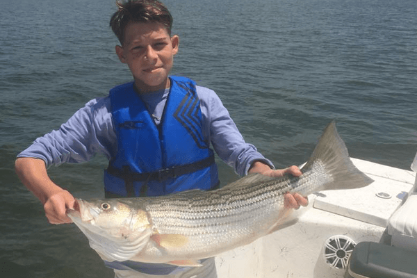 Take a Kid Fishing on Lake Texoma