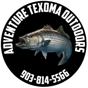 Texoma Striper Guide John Blasingame, Texoma Striper Fishing